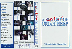 VCD Easy Livin' - The Story Of Uriah Heep